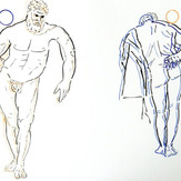 Poposki, Farnese Hercules (after Jeff Koons after Glykon after Lysippos)