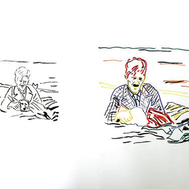 Poposki, On the beach (George Orwell)