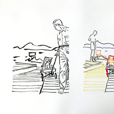 Poposki, On the beach (W.H. Auden)