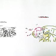 Poposki, On the beach (William S. Burroughs)