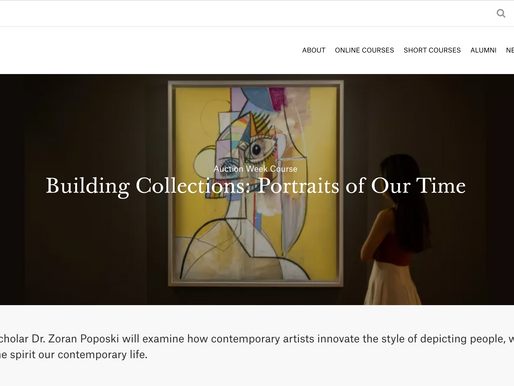 Building Collections: Portraits of Our Time
