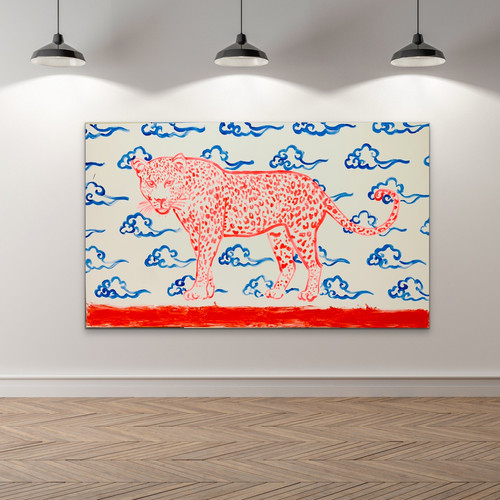 Poposki, Leopard with Clouds