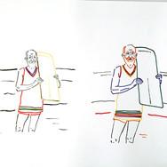 Poposki, On the beach (George Bernard Shaw)