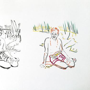 Poposki, On the beach (Eugene O'Neill), 2015