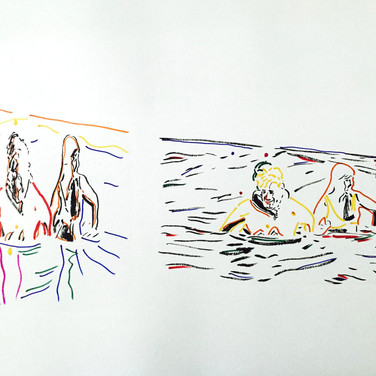 Poposki, On the beach (Henri Lefebvre)