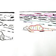 Poposki, On the beach (Maya Deren II)