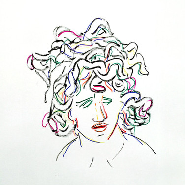 Poposki, Medusa (after Bernini)