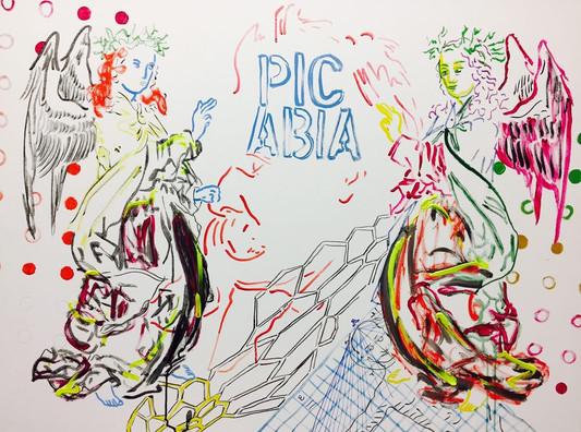Zoran Poposki, The Annunciation of Monsieur Picabia to Doctor Nietzsche