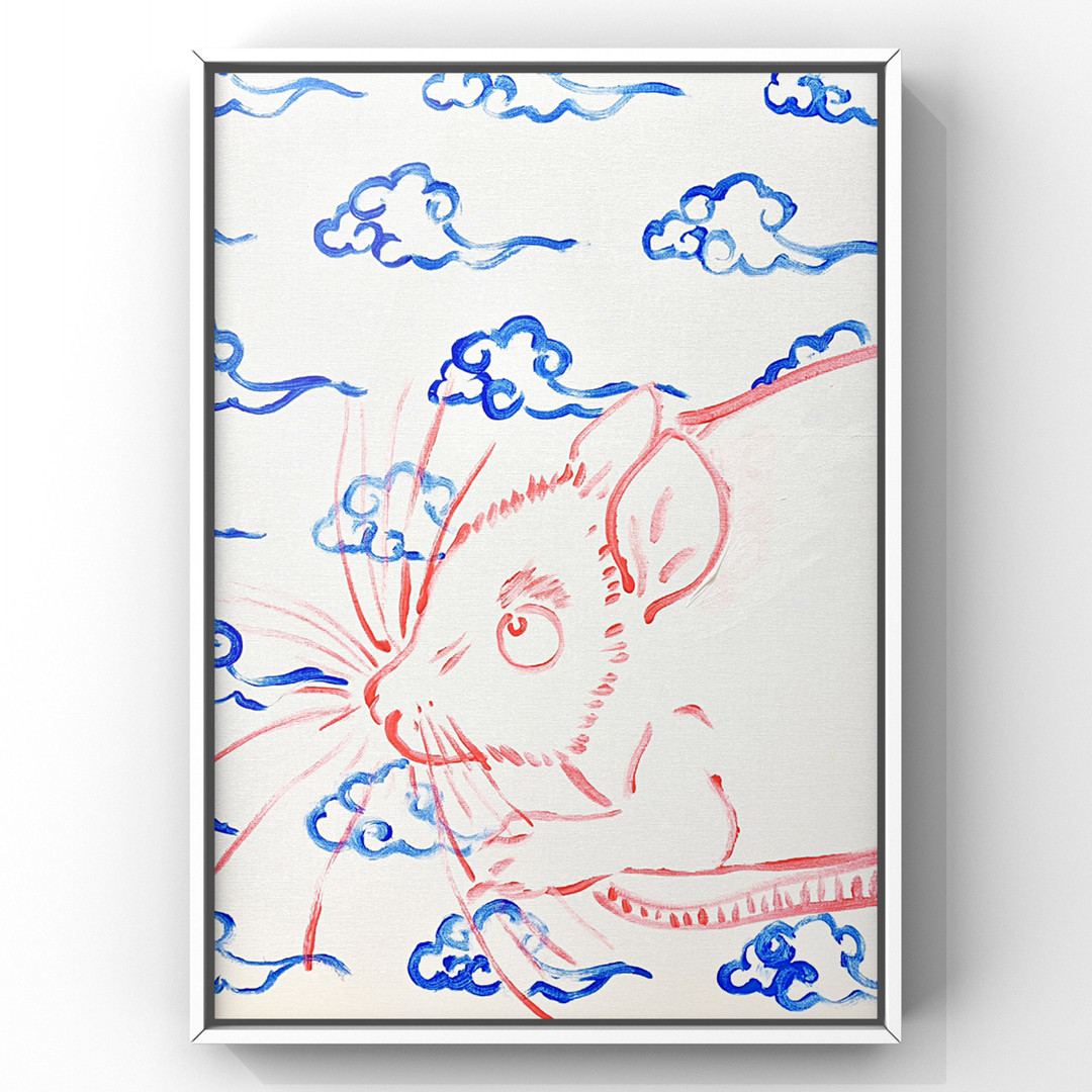 Poposki, Mouse with Clouds