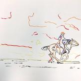 Poposki, Horse I (after Richard Prince after...)