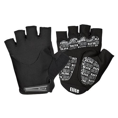 Elite Cycling Project Endurance Short Finger Bike Gloves with Gel Pads