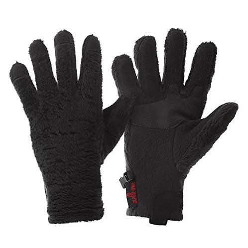 Alpine Owl Faux Yeti Fur Cold Weather Winter Gloves