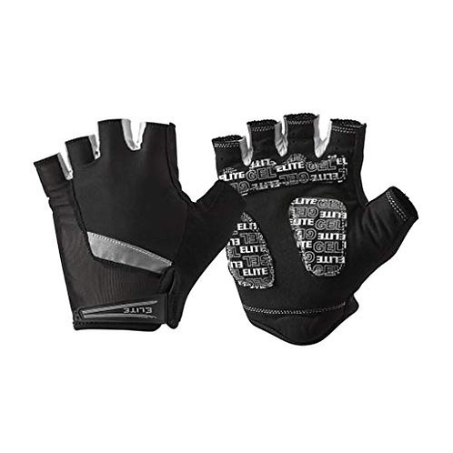 Elite Cycling Project Velocity Short Finger Cycling Gloves Gel Pads