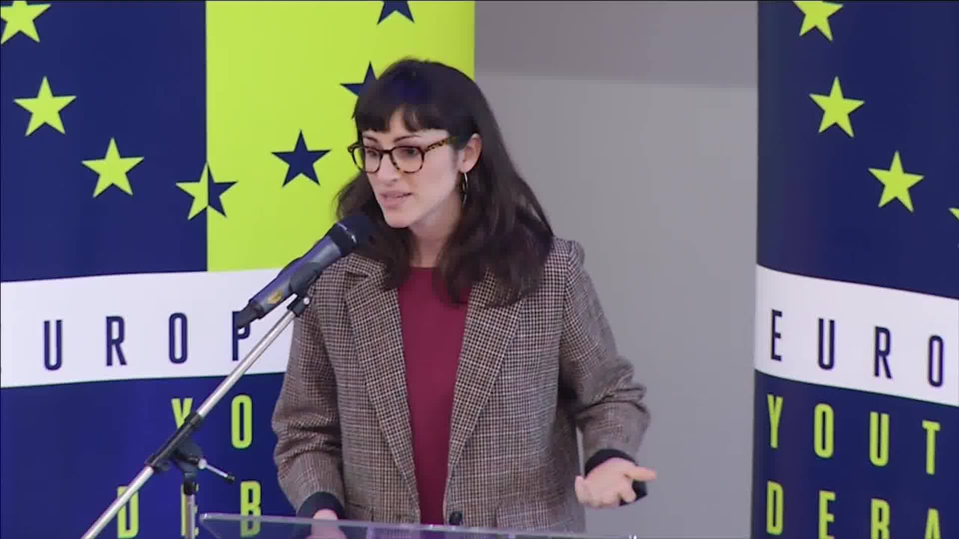 Eleonora Evi's speech a@EYD Opening Conference
