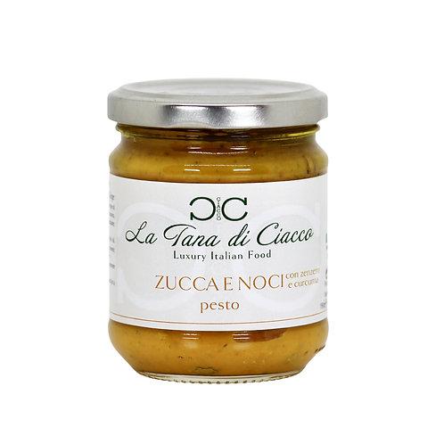 Pesto Zucca e Noci con Curcuma e Zenzero