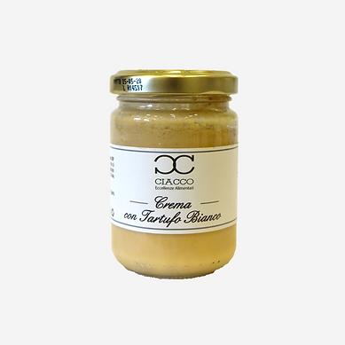 Crema con Tartufo Bianco e Parmigiano Re