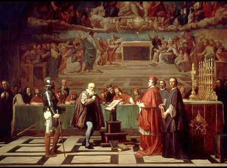 """La Iglesia malvada"" y el santo Galileo"