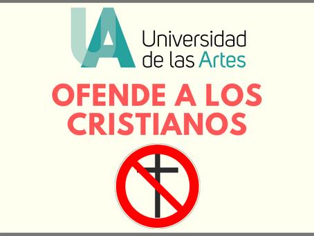 """El """"arte"""" de ofender a los cristianos"""