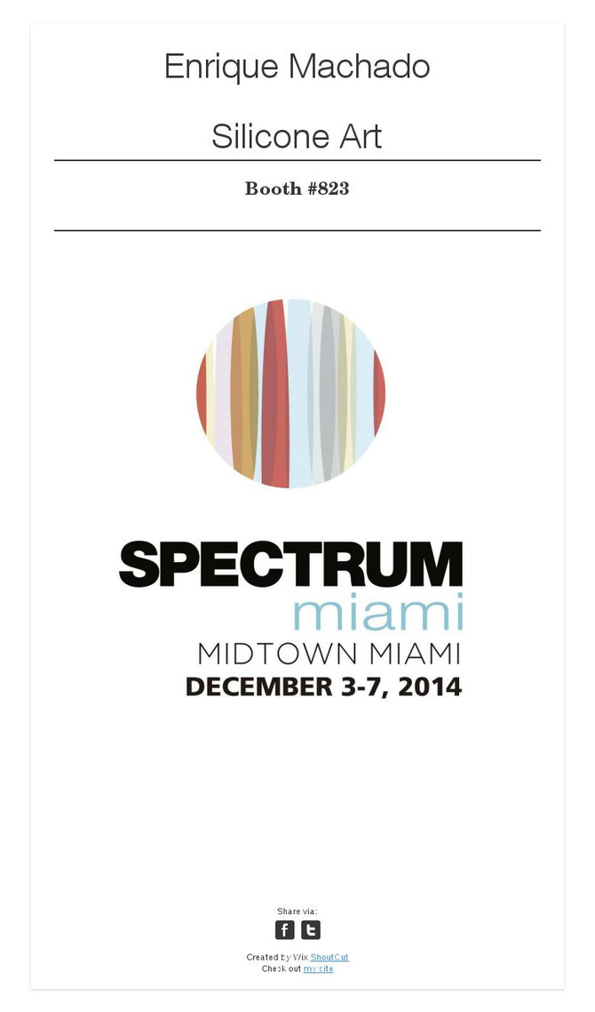 SPECTRUM Miami 2014