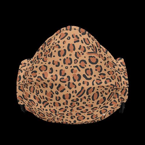 Leopard Classic Premium Face Mask
