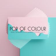 Pop of Colour Business Cards - Ana Steinberg Design