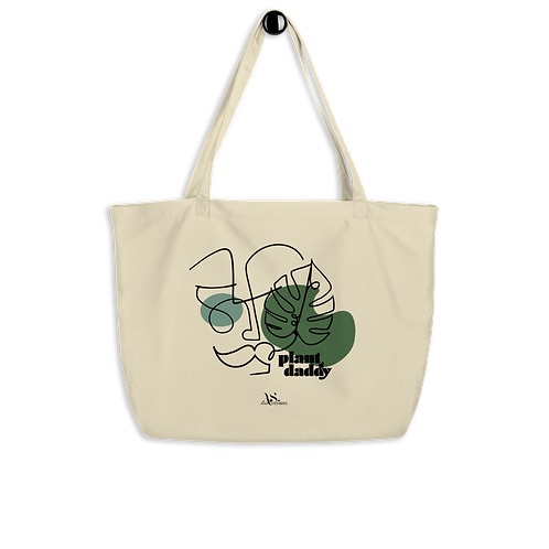 Plant Daddy Large Eco Tote Bag