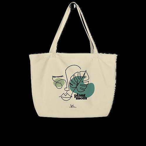 Plant Mom Large Eco Tote Bag