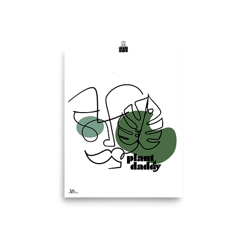 Plant Daddy Print