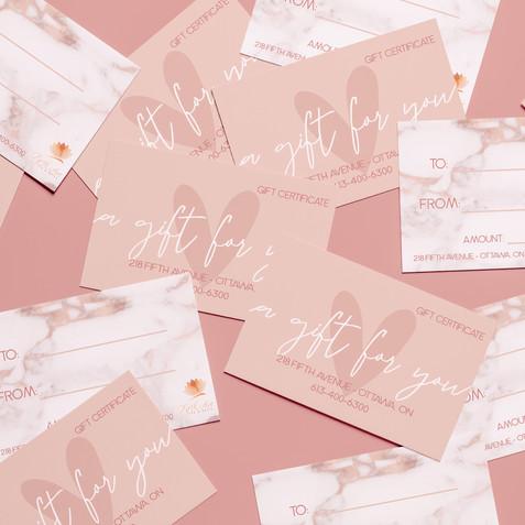 Fifth Ave Spa Giftcard Design - Ana Steinberg Design.jpg