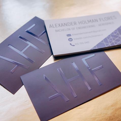 Business Cards Alex Holman Flores