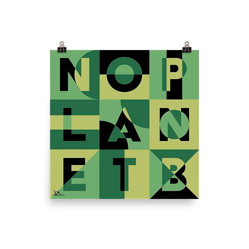 No Planet B Print