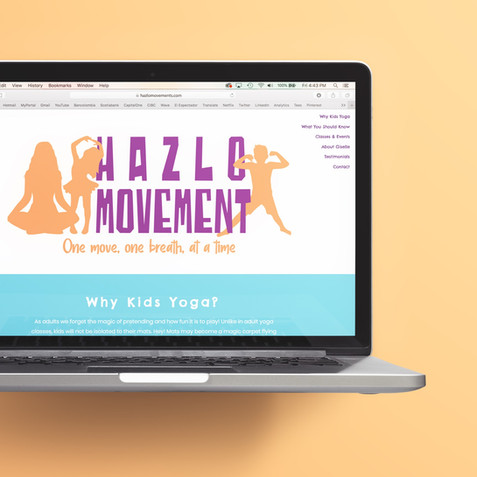 Hazlo Movement Landing Page and Branding Assets