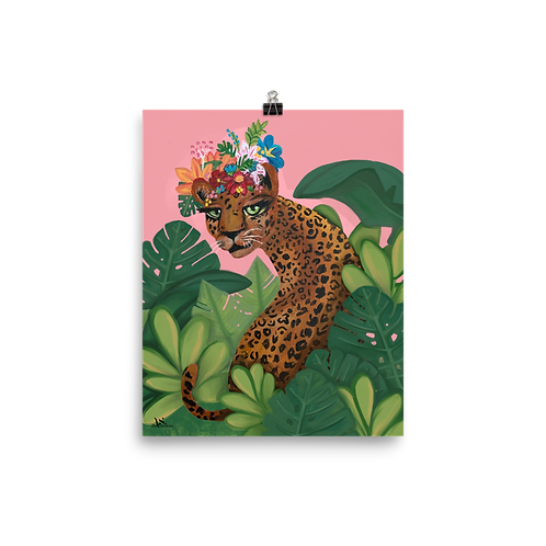 Queen of the Jungle Print