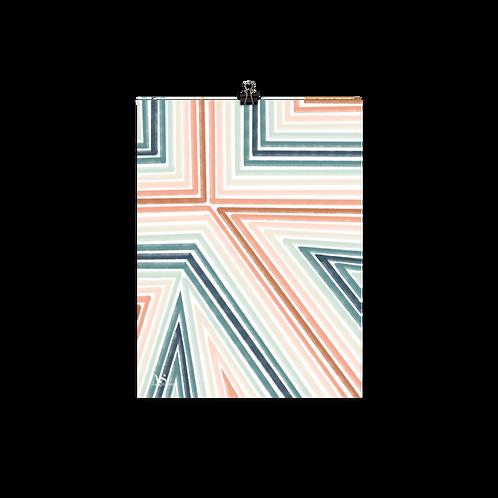 Stripes Mix Print