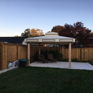 Marquee Tent Vented