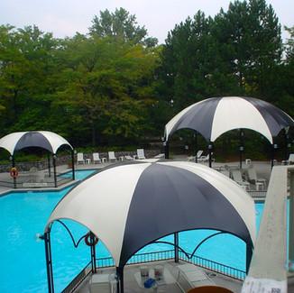 Custom Poolside Tents