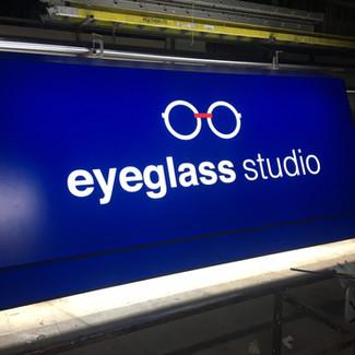 Eyeglass Studio Commercial Backlit LED