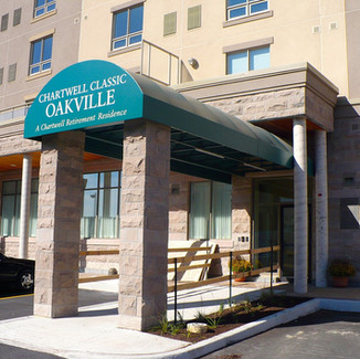 Oakville Entrance Canopy
