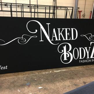 Naked Bodyz - Artwork Stage