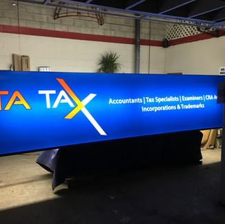ITA Tax Backlit