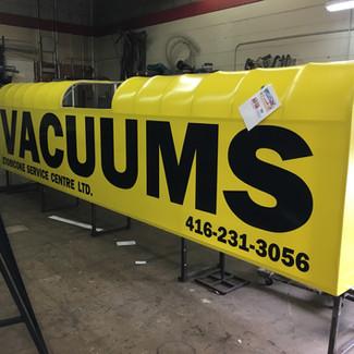 Vacuums - artwork stage