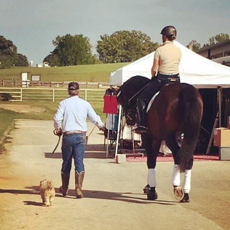 Out at #texasrosehorsepark this weekend