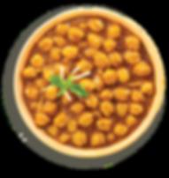 Sumptuous pesticide-free channa masala