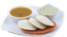 Delicious and healthy organic Idli!