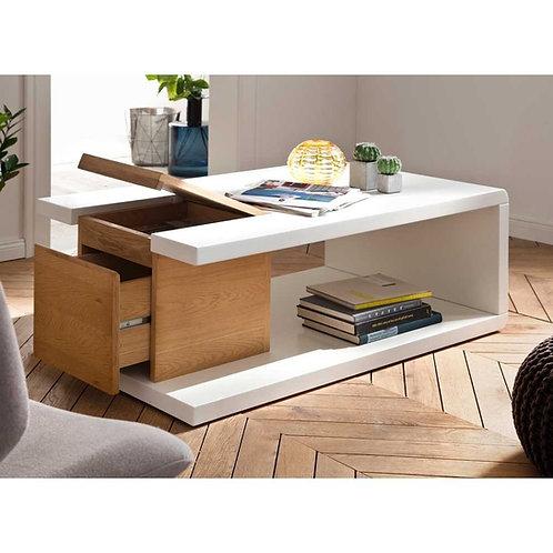 Mesa de centro diseño moderno Ref: Movilla (100x50x38)
