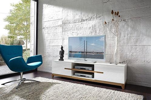 Mesa de TV Diseño Ultra Moderno lacado Ref: Bois (180x40x50)