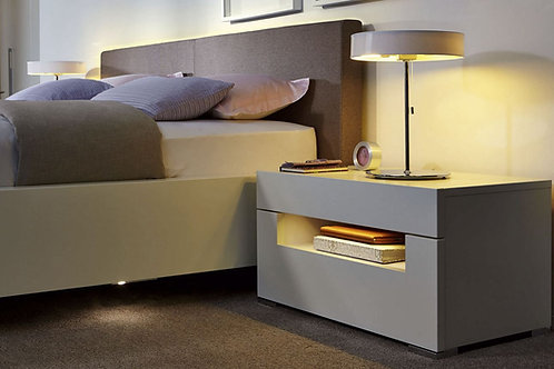 Mesa de noche Diseño Moderna Ref: Bianca (60X40X40)