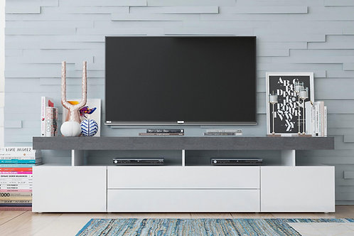 Mesa de Television Diseño Moderno Ref: Grafito (200x50x40)
