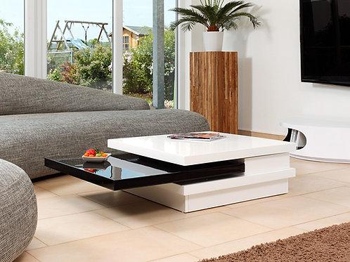 Mesa de Centro diseño Moderno Giratoria Ref: Platinum Pro (105X70X31)