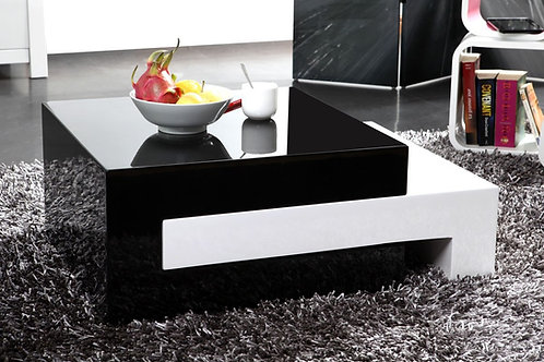 Mesa De Centro Diseño Moderno Extensible Ref: Luna (80(120)x60x31.5)